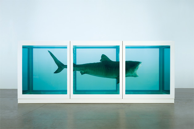 "Hirst, Damien. ""The Physical Impossibility of Death in the Mind of Someone Living"", 1991."
