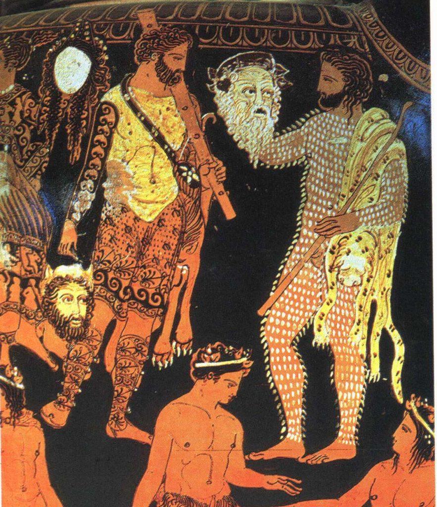 El teatro griego.